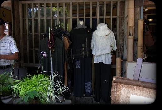 和柄のお洋服